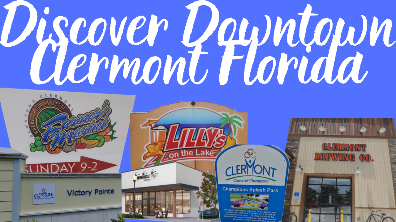 Downtown Clermont FL