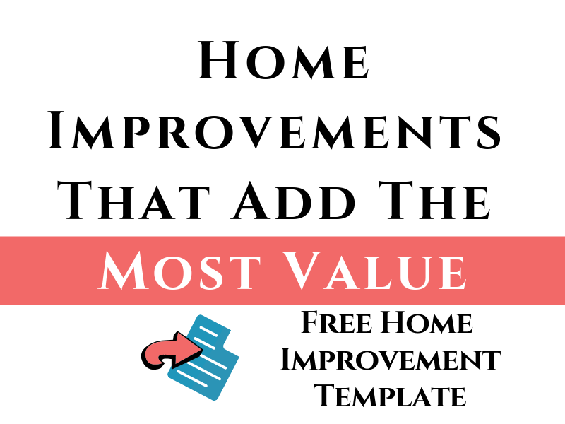 Free Home Improvement Template