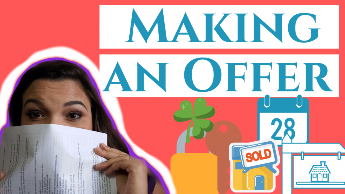 making an offer on a house tips