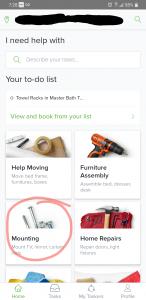 Best moving Apps - Task Rabbit 1
