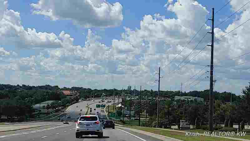 Driving in Clermont Fl, Route 27 by Clermont Landing