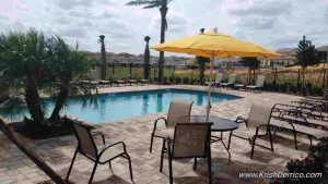 The reserve in minneola pool and cabanas