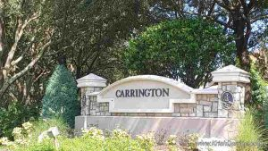 carrington legends neighborhood