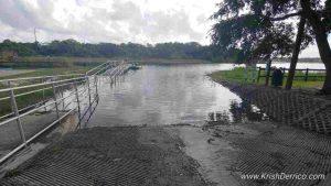 Johns Lake Boat Ramp Lift Off