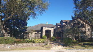 Lakefront homes in Magnolia Pointe