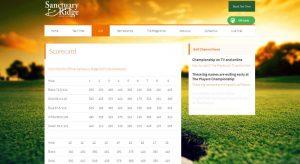 Sanctuary Ridge Golf Scorecard