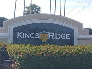 Kings Ridge Entrance Gate