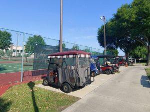 Kings Ridge Tennis Courts Parking