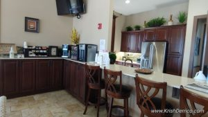 kitchen area at esplanades